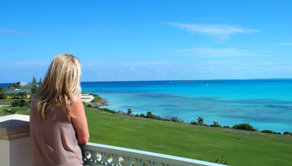 Grand Isle balcony