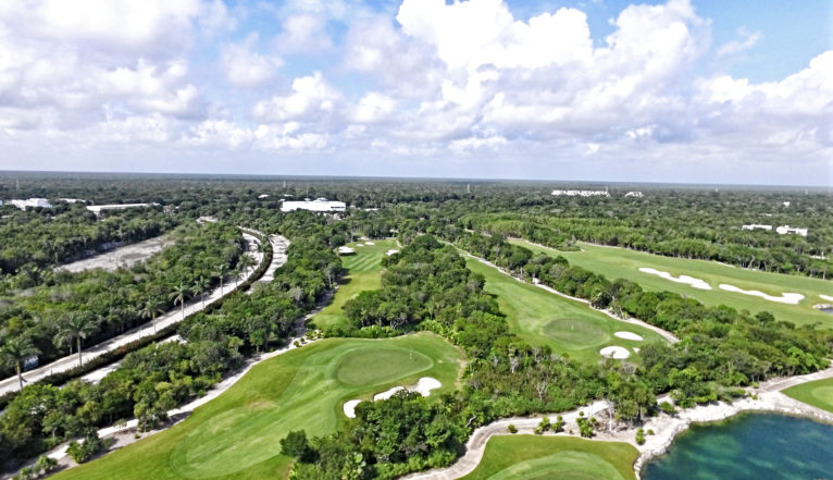 Riviera Maya Golf Course in Akumal