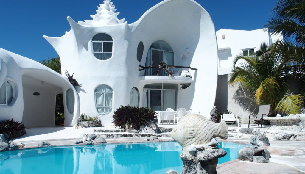 The Shell House Of Isla Mujeres Tim Cotroneo