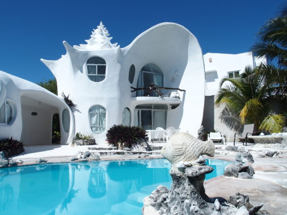 The Shell House of Isla Mujeres