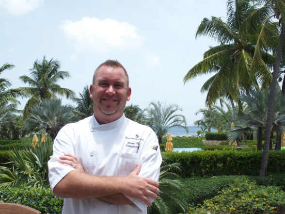 Nevis Chef Dives for Your Dinner