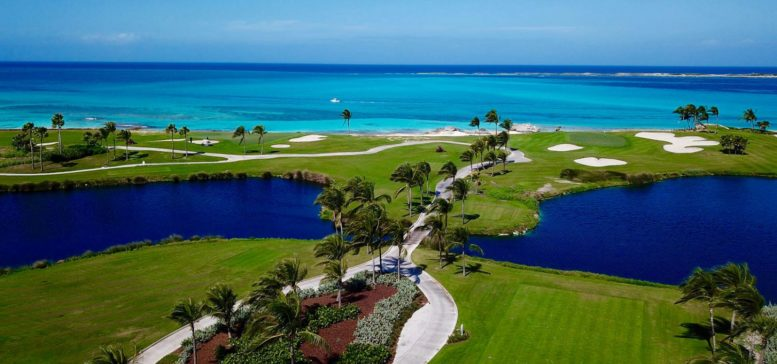 Dreaming Bahamas Big at Ocean Club Golf